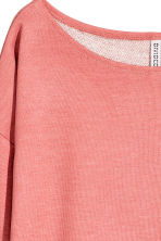 Long-sleeved jersey top - Pink - Ladies | H&M 3