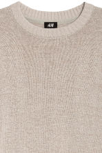 Linen-blend jumper - Light beige - Men | H&M CN 3