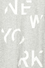 Printed T-shirt - Grey marl/New York - Men | H&M CN 3