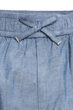 Pull-on trousers - Blue/Chambray -  | H&M 3