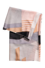 Airy tube scarf - Grey/Powder - Ladies | H&M 2