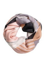 Airy tube scarf - Grey/Powder - Ladies | H&M 1