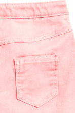 Button detail skirt - Washed-out pink -  | H&M 3