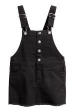 Dungaree dress - Black - Kids | H&M 2