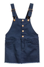 Dungaree dress - Dark blue -  | H&M 2