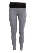 Leggings da yoga - Grigio mélange - DONNA | H&M IT 2