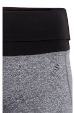 Yoga tights - Grey marl - Ladies | H&M 4