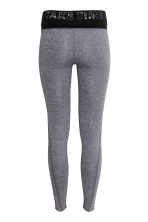 Yoga tights - Grey marl - Ladies | H&M 3