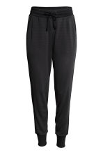 Mesh sports trousers - Black - Ladies | H&M 2