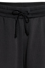 Mesh sports trousers - Black - Ladies | H&M 4