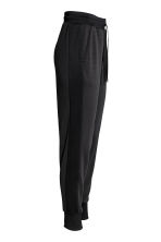 Mesh sports trousers - Black - Ladies | H&M 3