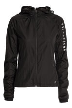 Light running jacket - Black - Ladies | H&M 2