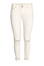 Slim Low Jeans - Wit - DAMES | H&M BE 2