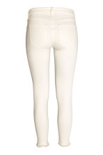 Slim Low Jeans - Wit - DAMES | H&M BE 3