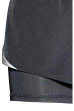 Running shorts - Dark grey - Ladies | H&M 4