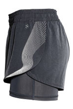 Running shorts - Dark grey - Ladies | H&M 3