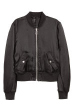 Padded bomber jacket - Black - Ladies | H&M CN 2