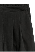 Wide shorts - Black - Ladies | H&M 3