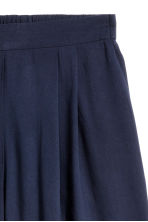 Wide shorts - Dark blue - Ladies | H&M CN 3