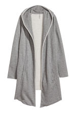 Sweatshirt cardigan - Grey marl - Ladies | H&M CN 2