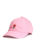 Cotton cap - Pink - Ladies | H&M CA 1