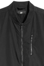 Bomber in misto nylon - Nero - UOMO | H&M IT 3
