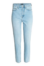 Straight High Jeans - Light denim blue - Ladies | H&M CN 2