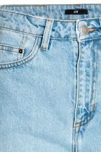 Straight High Jeans - Light denim blue - Ladies | H&M CN 4