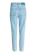 Straight High Jeans - Light denim blue - Ladies | H&M CN 3