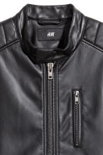 Biker jacket - Black - Men | H&M CN 3