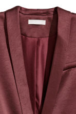 Tuxedo jacket - Burgundy - Ladies | H&M GB 3