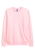 Sweatshirt - Light pink - Men | H&M 2