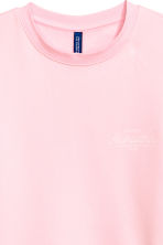 Sweatshirt - Light pink - Men | H&M 3