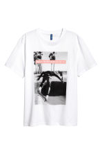 Printed T-shirt - White/Photo - Men | H&M 2