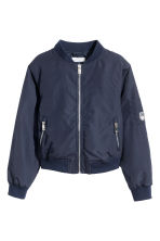 Bomber jacket - Dark blue -  | H&M 2