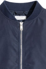 Bomber jacket - Dark blue -  | H&M 3