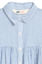 Long-sleeved blouse - Blue/White/Striped - Kids | H&M 2