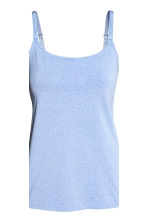 MAMA 2-pack nursing vest tops - Light grey/Striped - Ladies | H&M 3