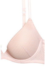 Lace push-up bra - Powder pink - Ladies | H&M CN 3