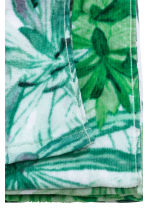 Printed bath towel - White/Leaves - Home All | H&M CA 3