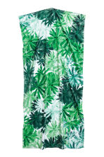Printed bath towel - White/Leaves - Home All | H&M CA 2