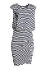 MAMA Nursing dress - Dark blue/Striped - Ladies | H&M 3