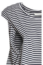 MAMA 哺乳洋裝 - Dark blue/Striped - Ladies | H&M 4