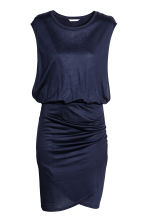 MAMA Nursing dress - Dark blue -  | H&M CN 1