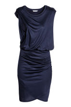 MAMA Nursing dress - Dark blue -  | H&M CN 2