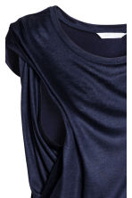MAMA Nursing dress - Dark blue - Ladies | H&M 3