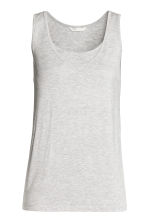 MAMA Nursing top - Light grey marl -  | H&M 2