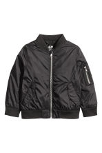 Bomber jacket - Black - Kids | H&M CN 2