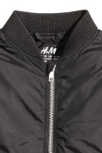 Bomber jacket - Black - Kids | H&M CN 3