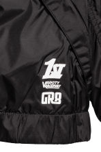 Jersey-lined windproof jacket - Black -  | H&M CN 4